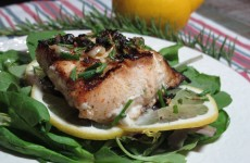 Tuna Salad Wolf Fish & Chilled Radish Soup