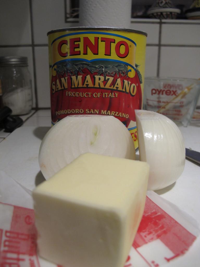 Almond Tarte - Tomato Sauce - Cheese Souffle 032