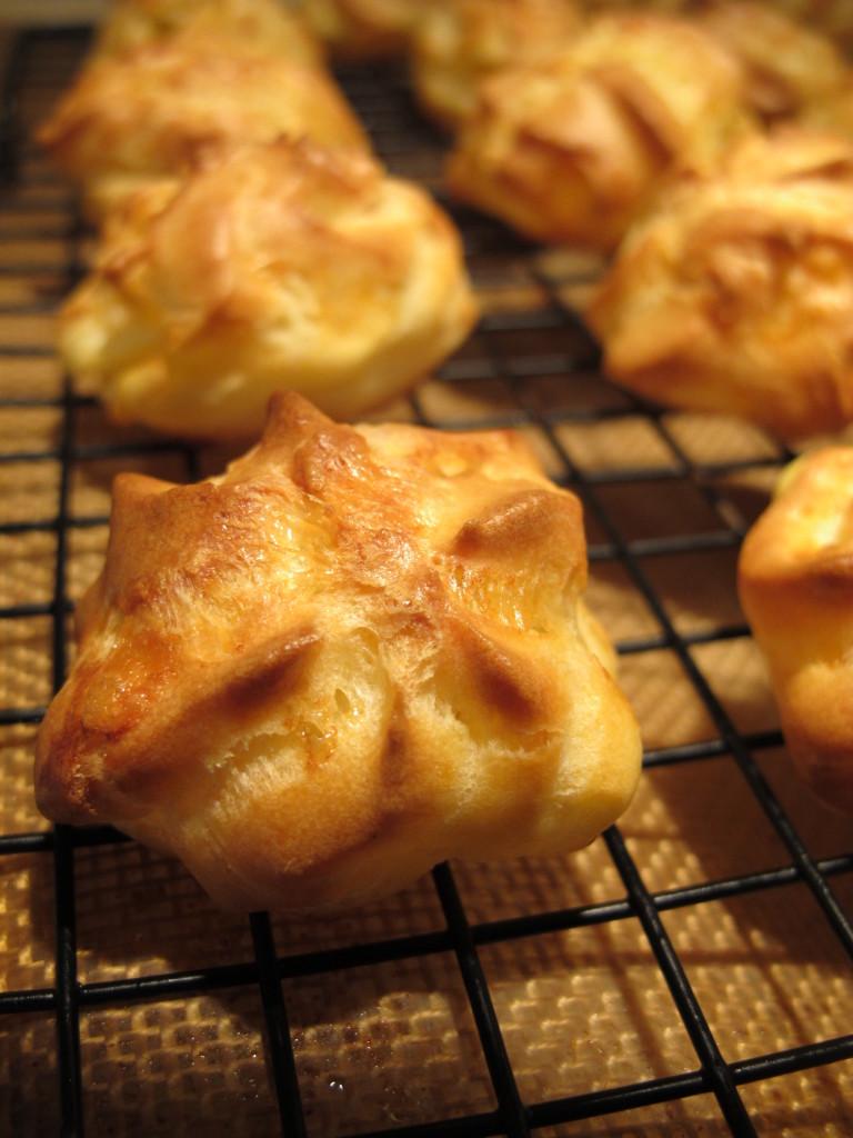 Pork ala creme normande waffle chips paris brest 077