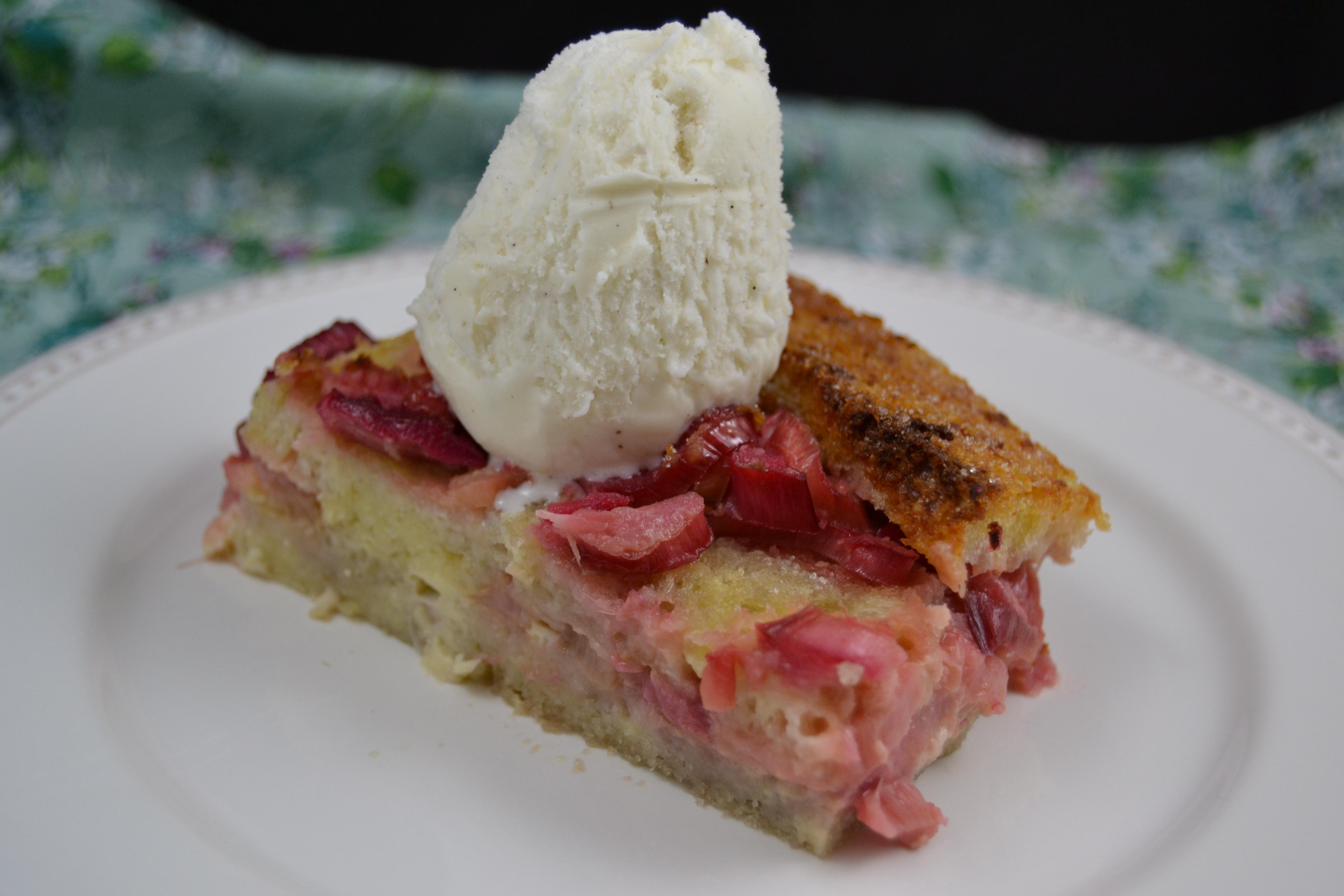 Christy Majors – Rhubarb Ginger Bread Pudding – Irish Comfort Food