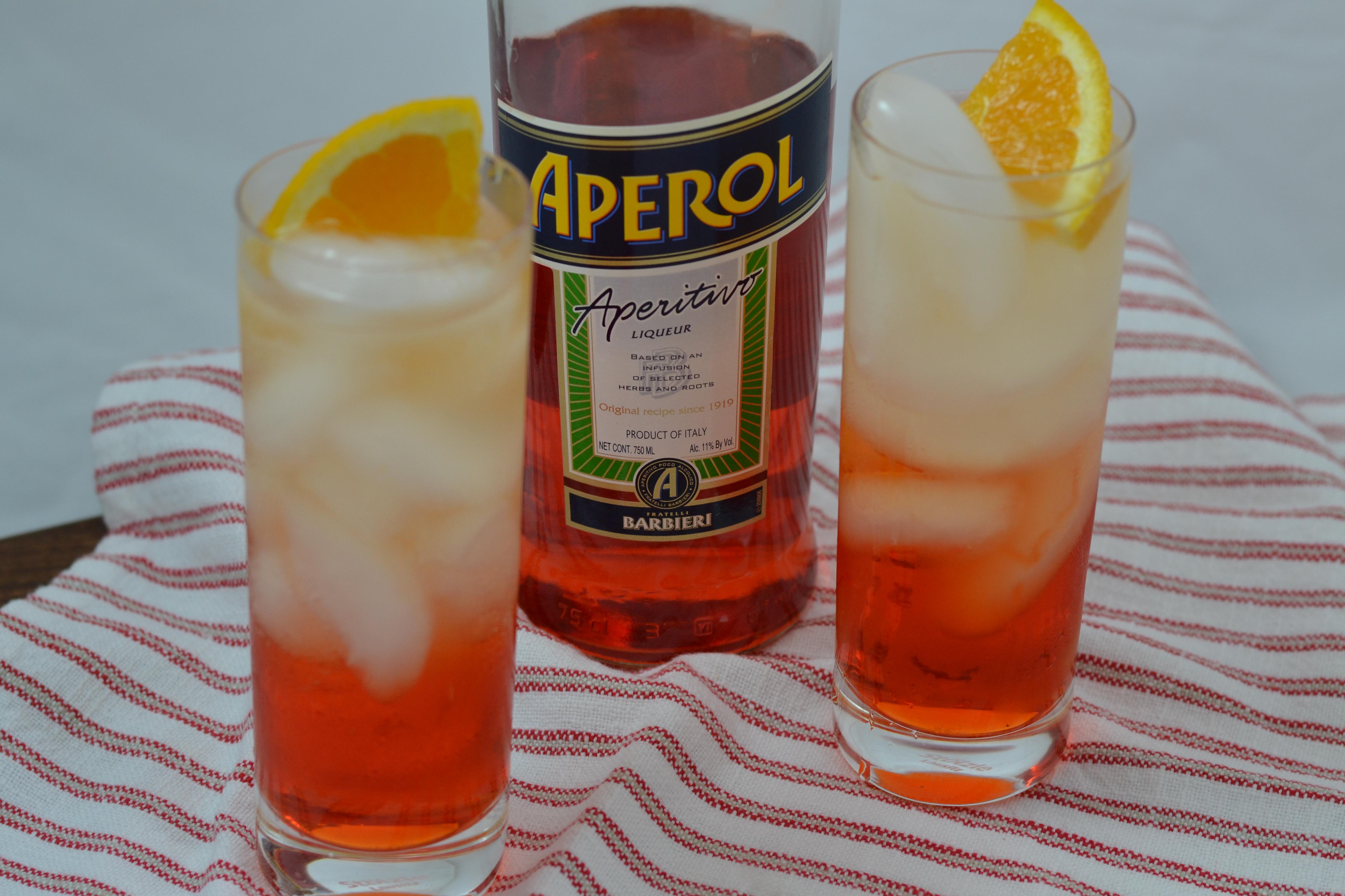 Aperol Spritz U0026 Cantaloupe Risotto 012