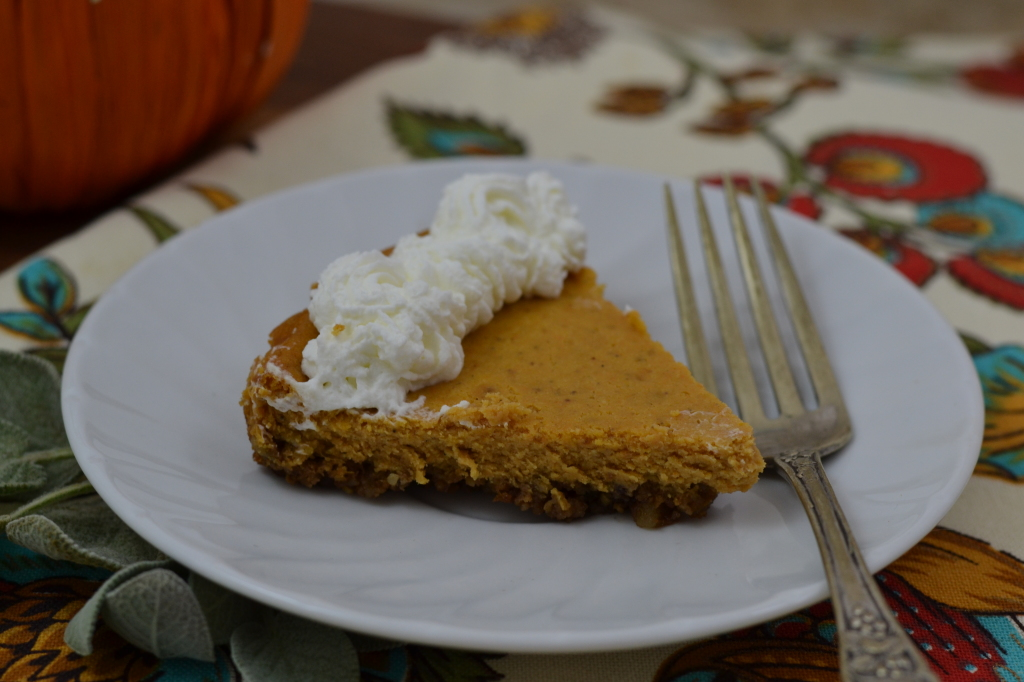 Pumpkin Cheesecake & Raincoast Crisp Crust 127