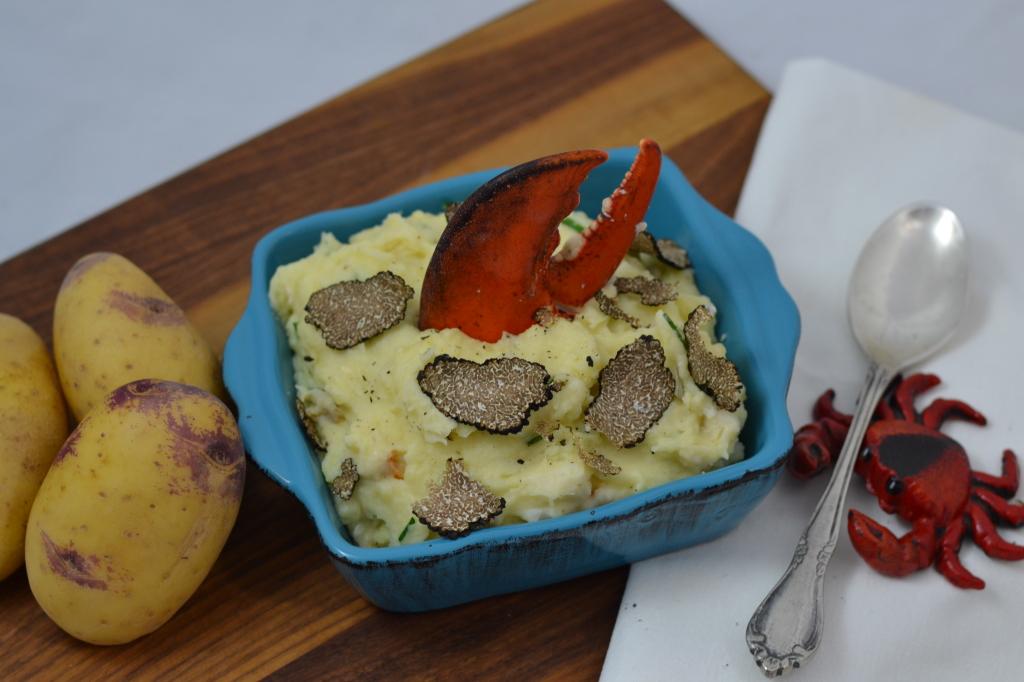 Klondike Brand Royale Potato - Hedonistic Mashed Potatoes with Lobster & Fresh Truffle Slices