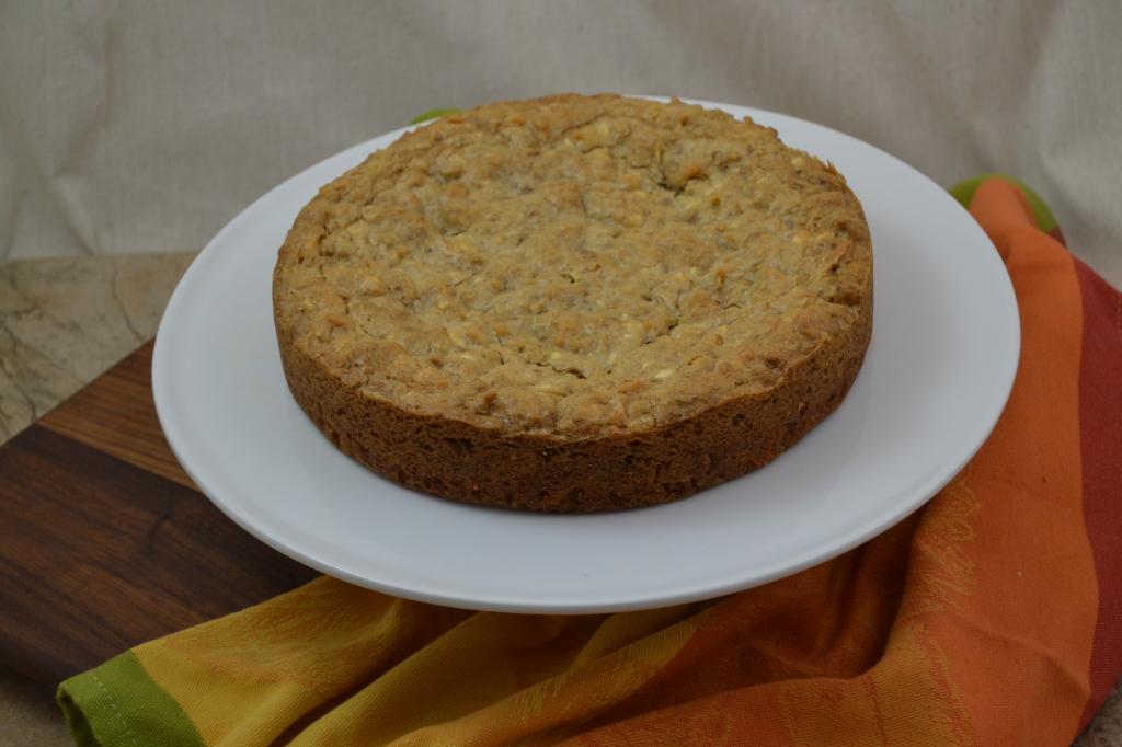 Granola Cake Monkfish Pork with Fig & Apple 003