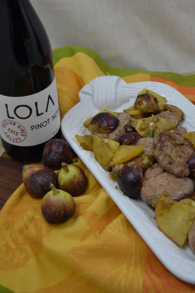 Lola with Pork with Fig & Apple 016