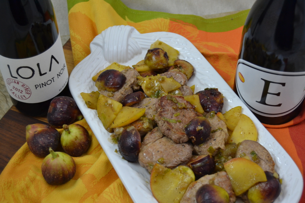 Pork with Fig & Apple 019
