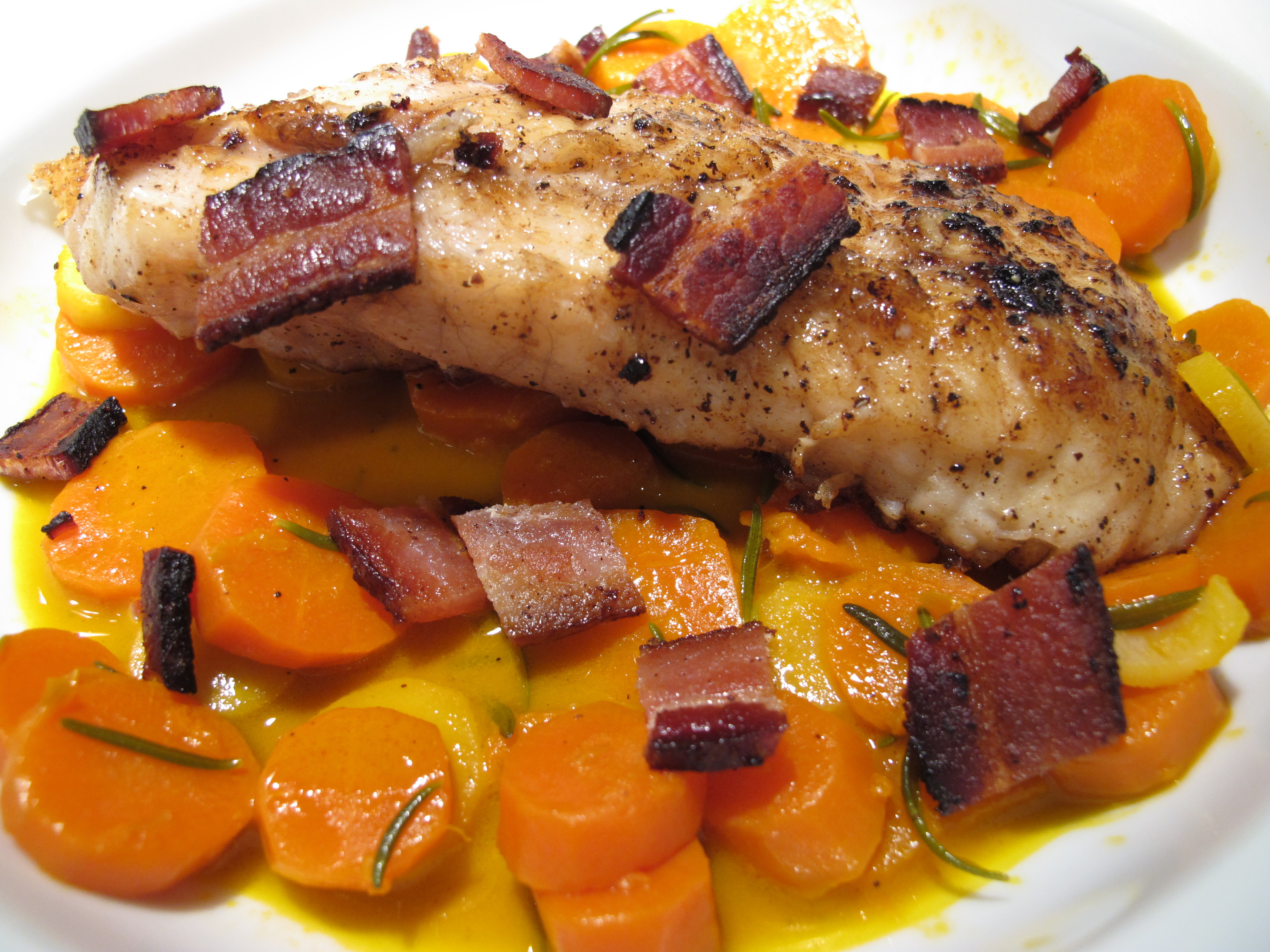 Christy Majors French Fridays Monkfish With Double Carrots