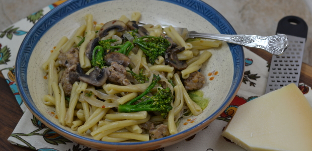 #WeekdaySupper – Pasta with Sausage & Broccoli Rabe