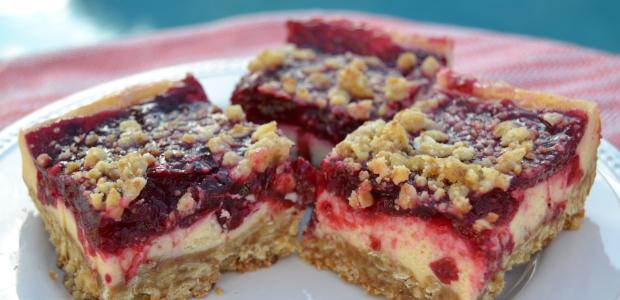 #BloggerCLUE: Cranberry Cream Cheese Dream Bars