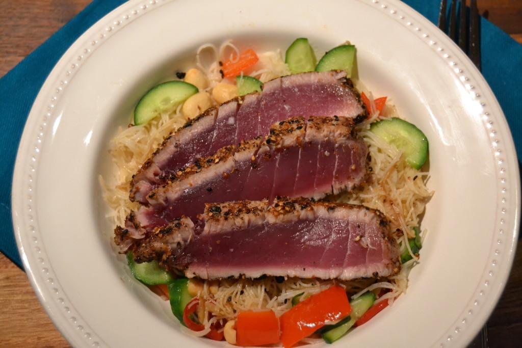 Spice Crusted Tuna