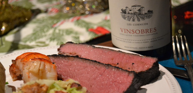 Downton Sundays:  Back to the Future with Sous Vide Spice Rubbed Brisket & Lobster