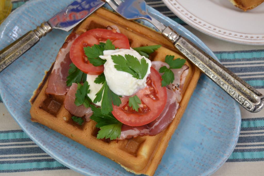 European Breakfast Waffle