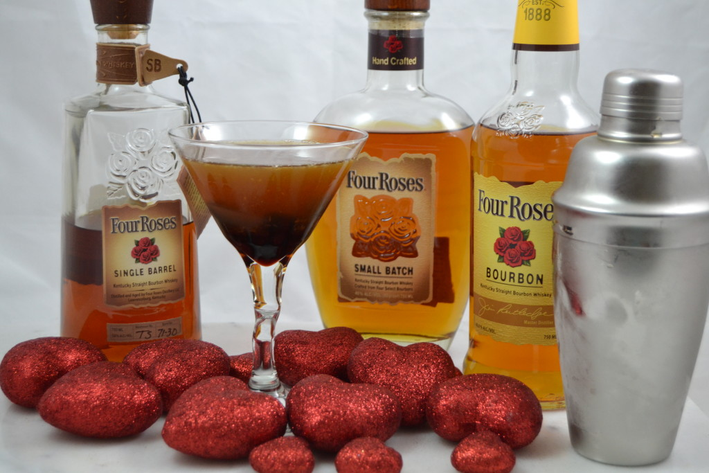 Sweetheart Manhattan & Four Roses Bourbon