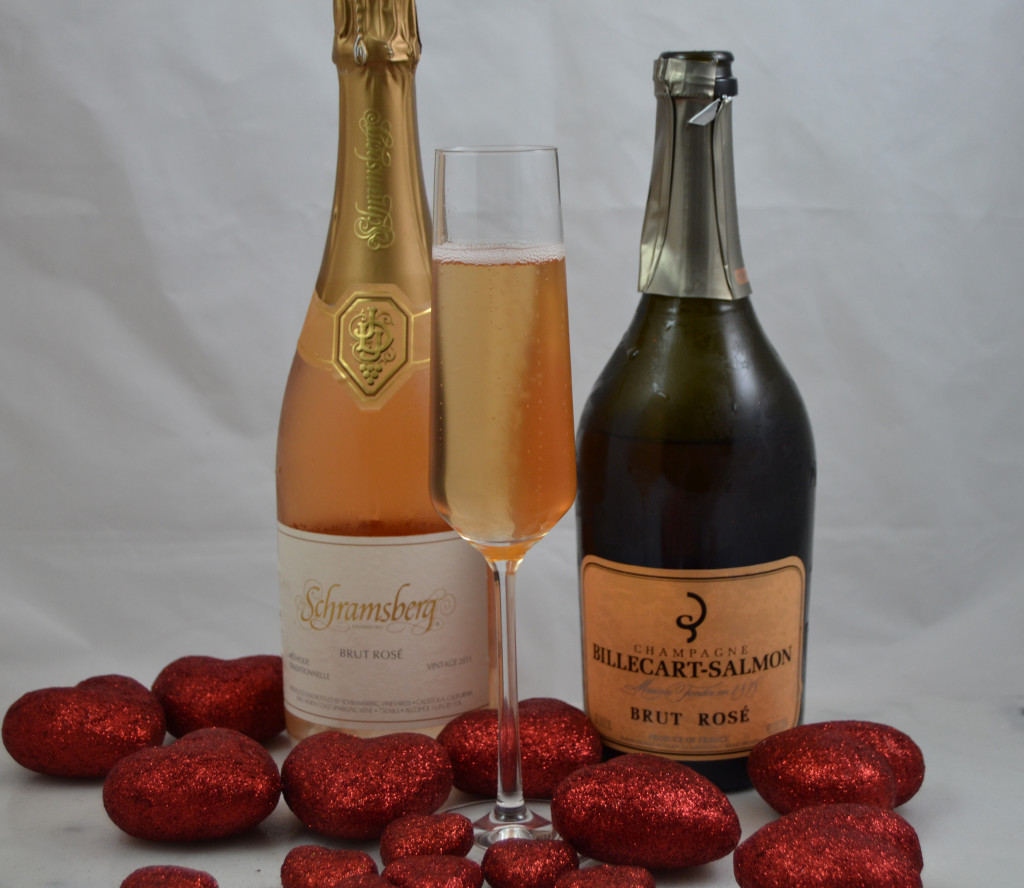 Schramsberg Brut Rose & Billecart-Salmon
