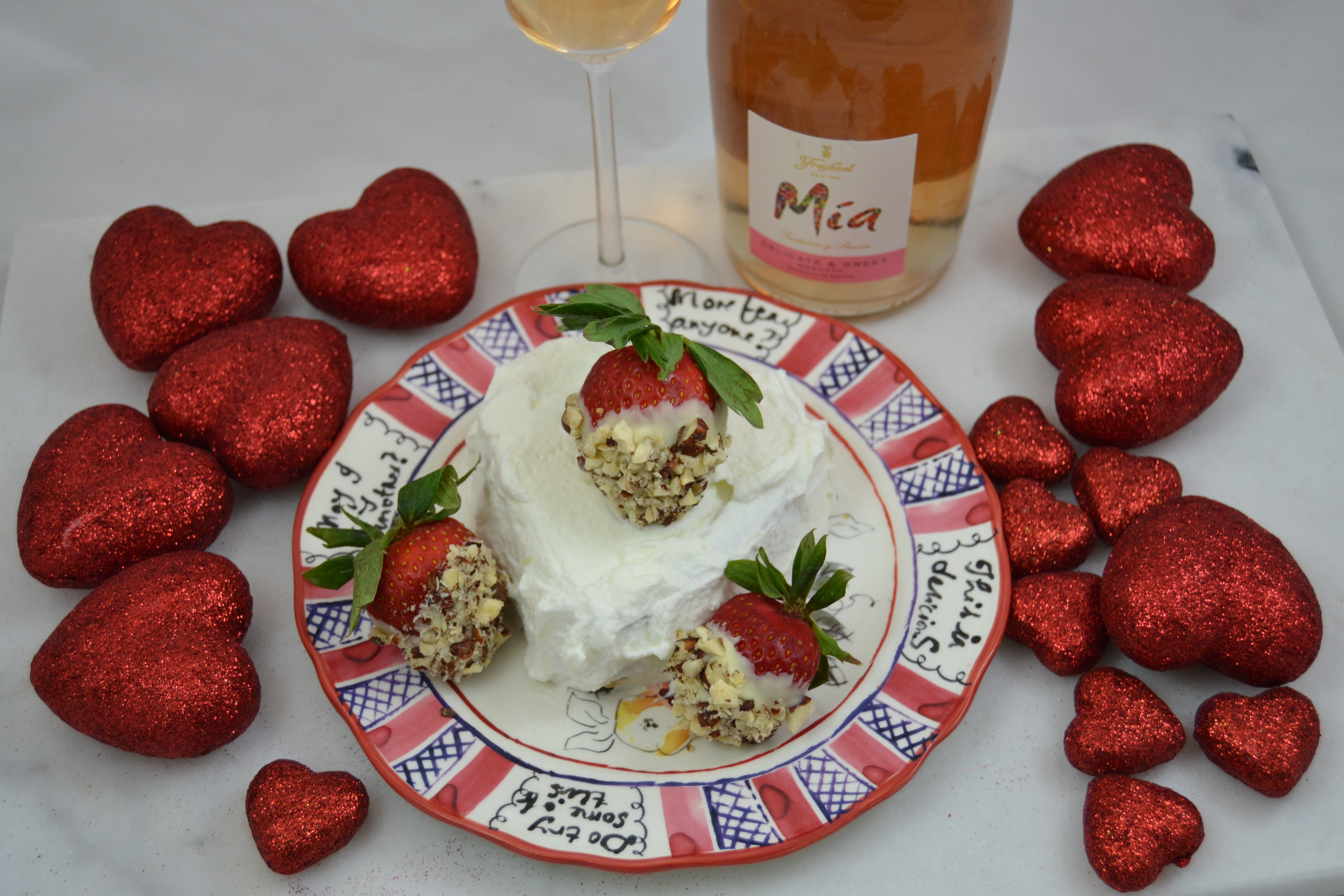 Christy Majors – Valentine's Day: White Chocolate Dipped Strawberries