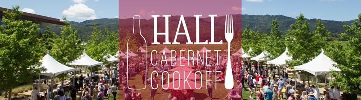 Hall Cabernet Cookoff Banner