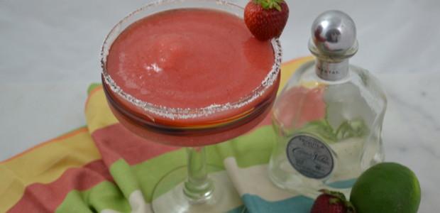 #BloggerClue Society: Strawberry Margaritas