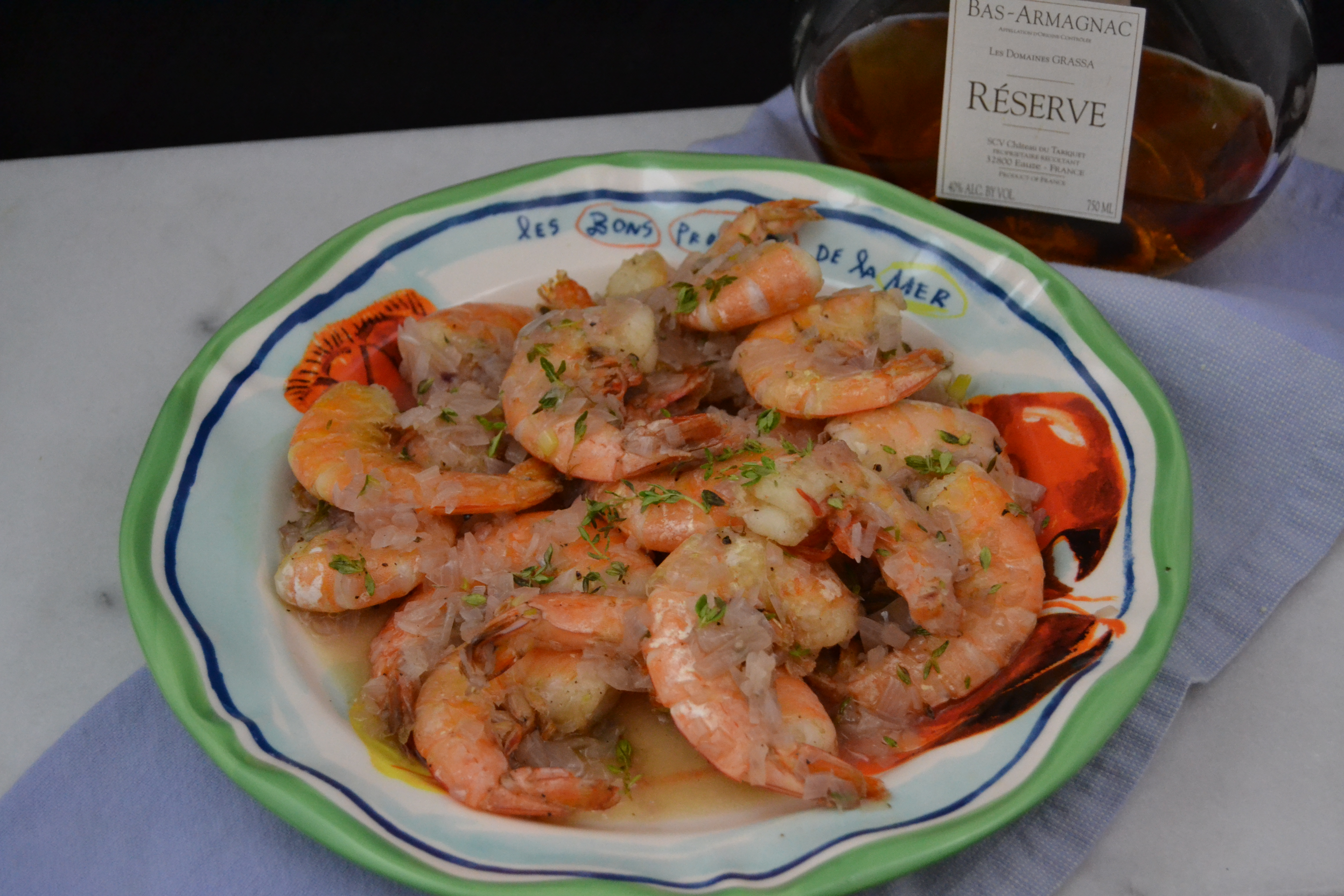 Christy MajorsWeekend In a French KitchenShrimp with Armagnac