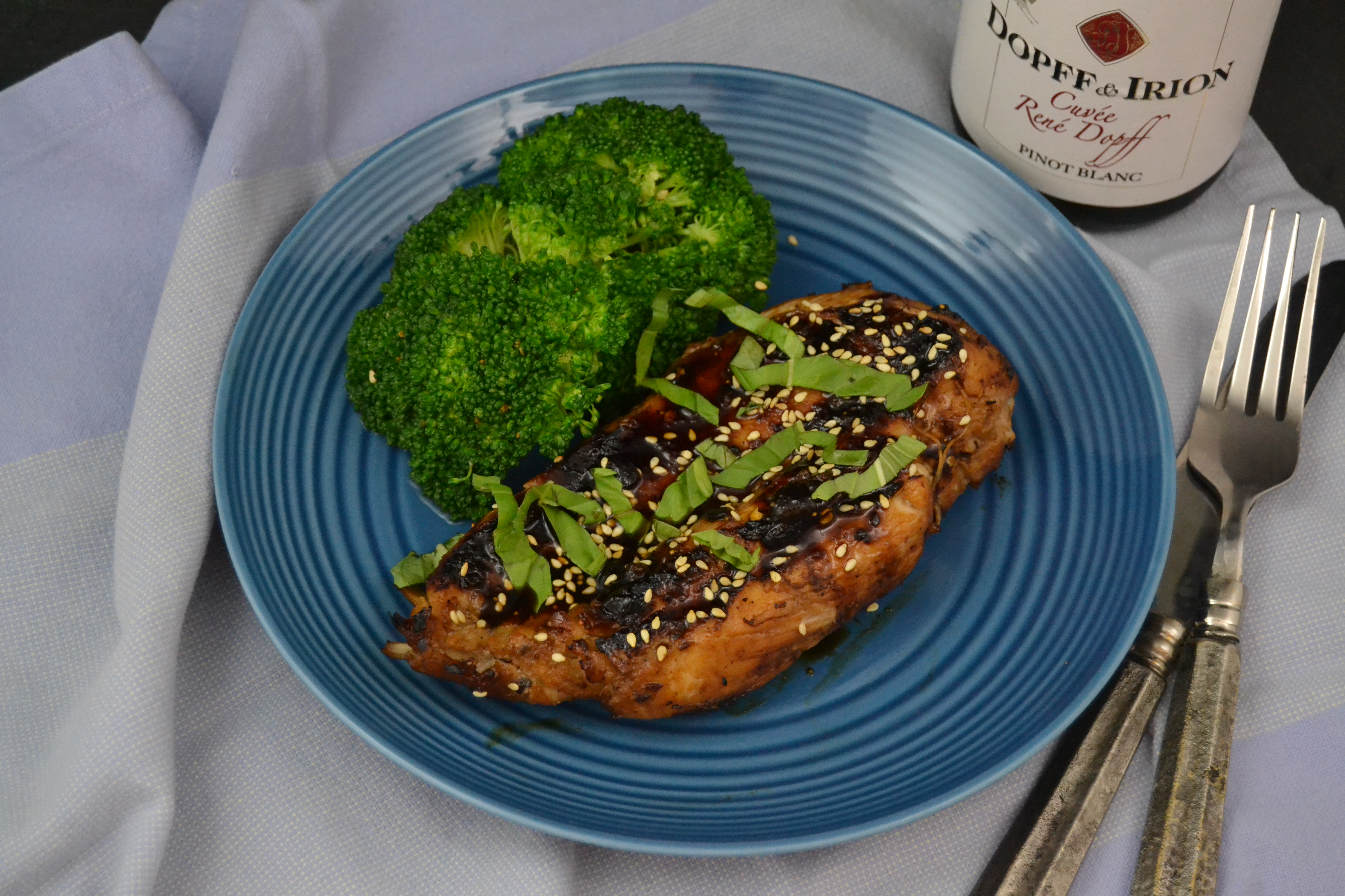 Asian Style Grilled Chicken Breast