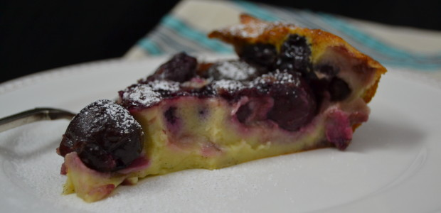 Weekend in a French Kitchen: Cherry Clafoutis