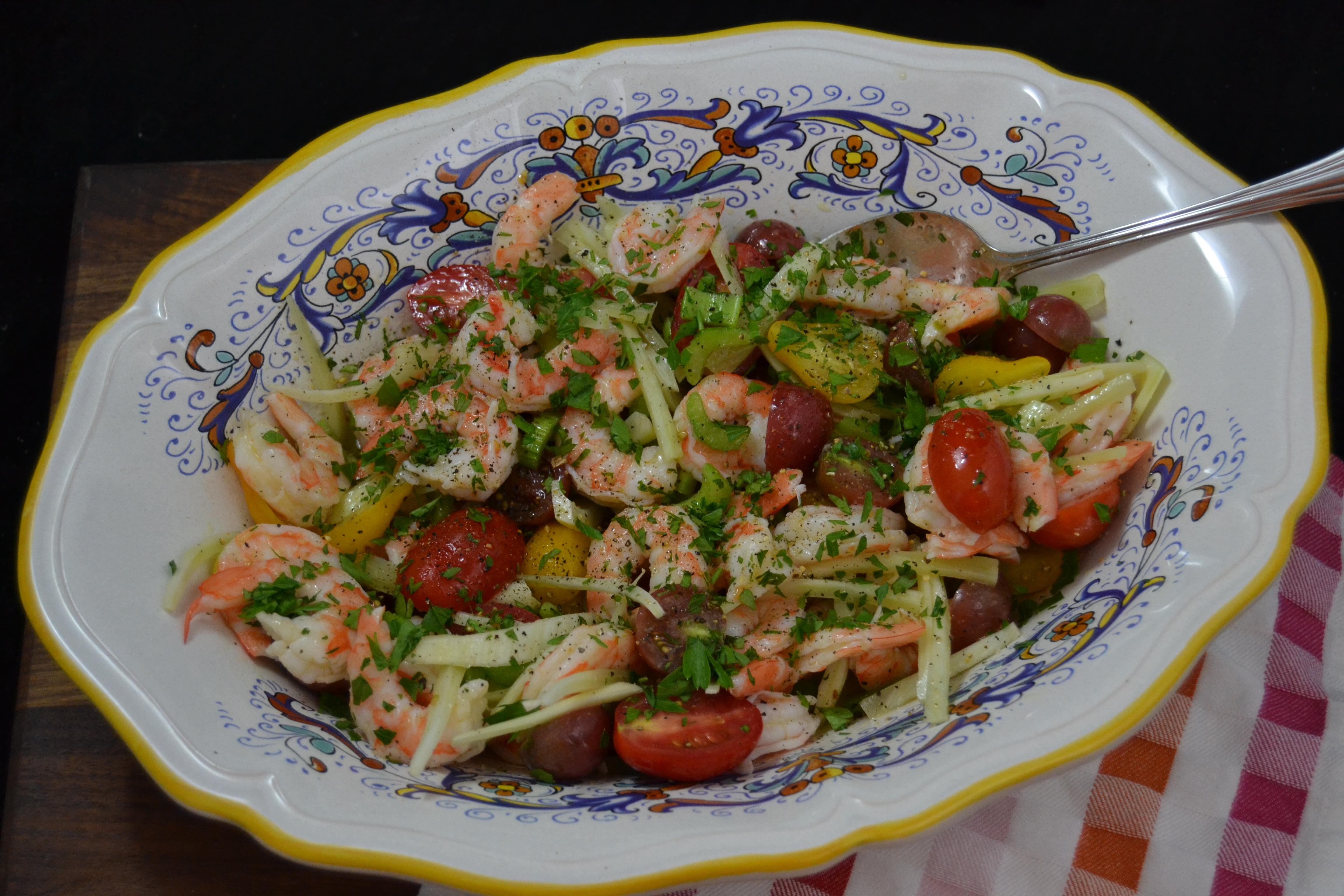 #ItalianFWT Shrimp Salad
