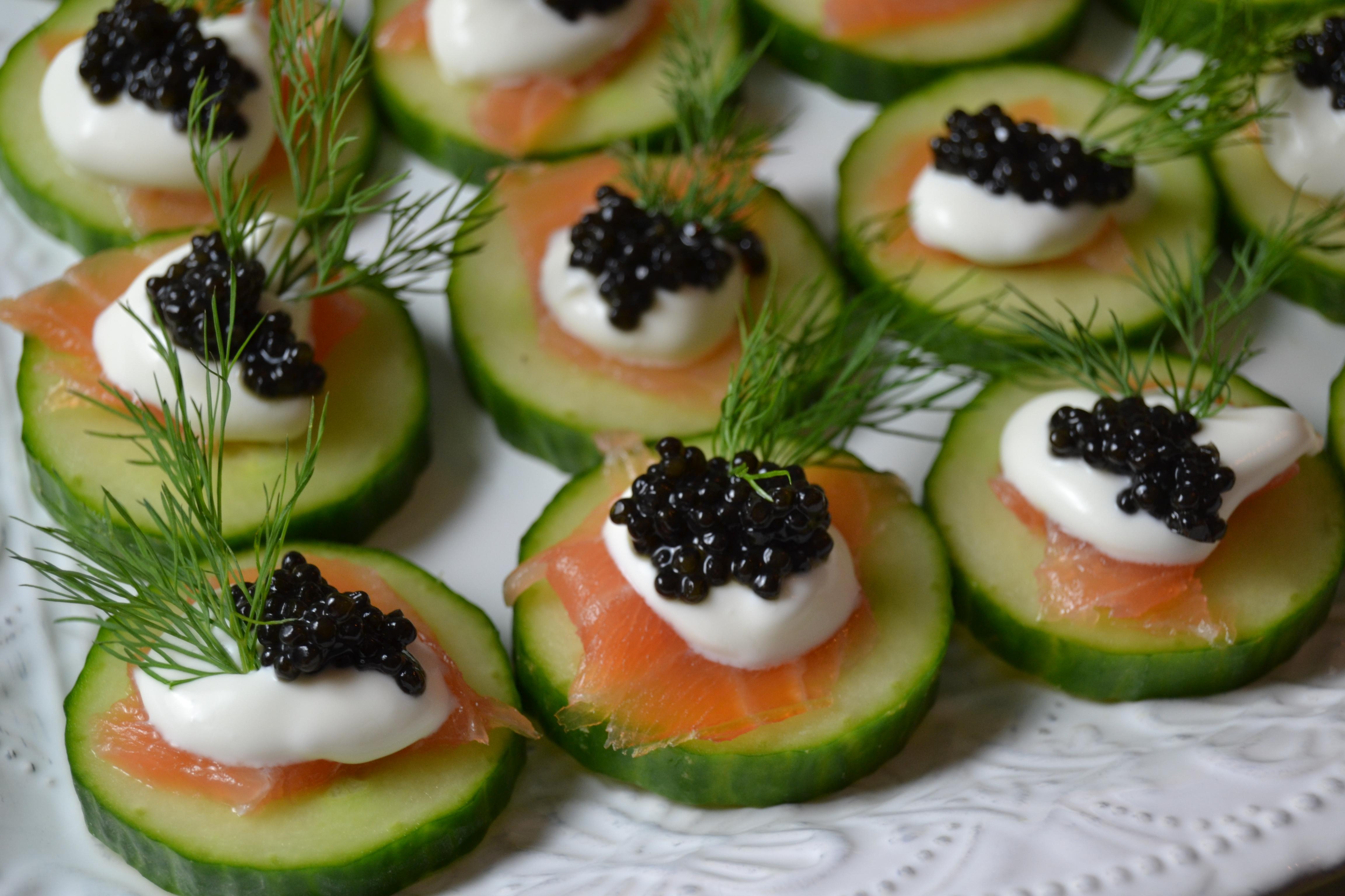 Caviar appetizer 011