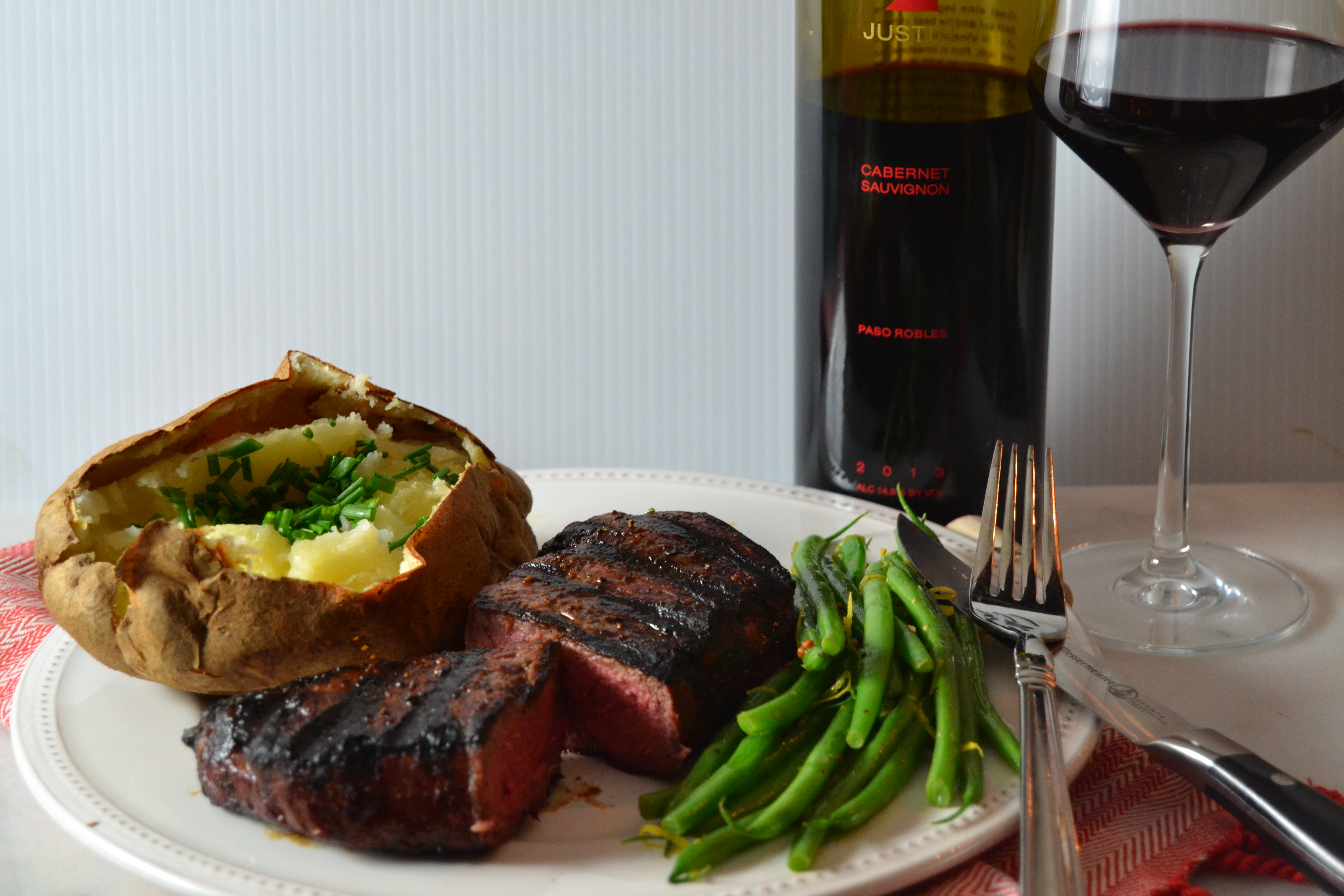 Romance your Valentine this year with an intimate steakhouse dinner at home