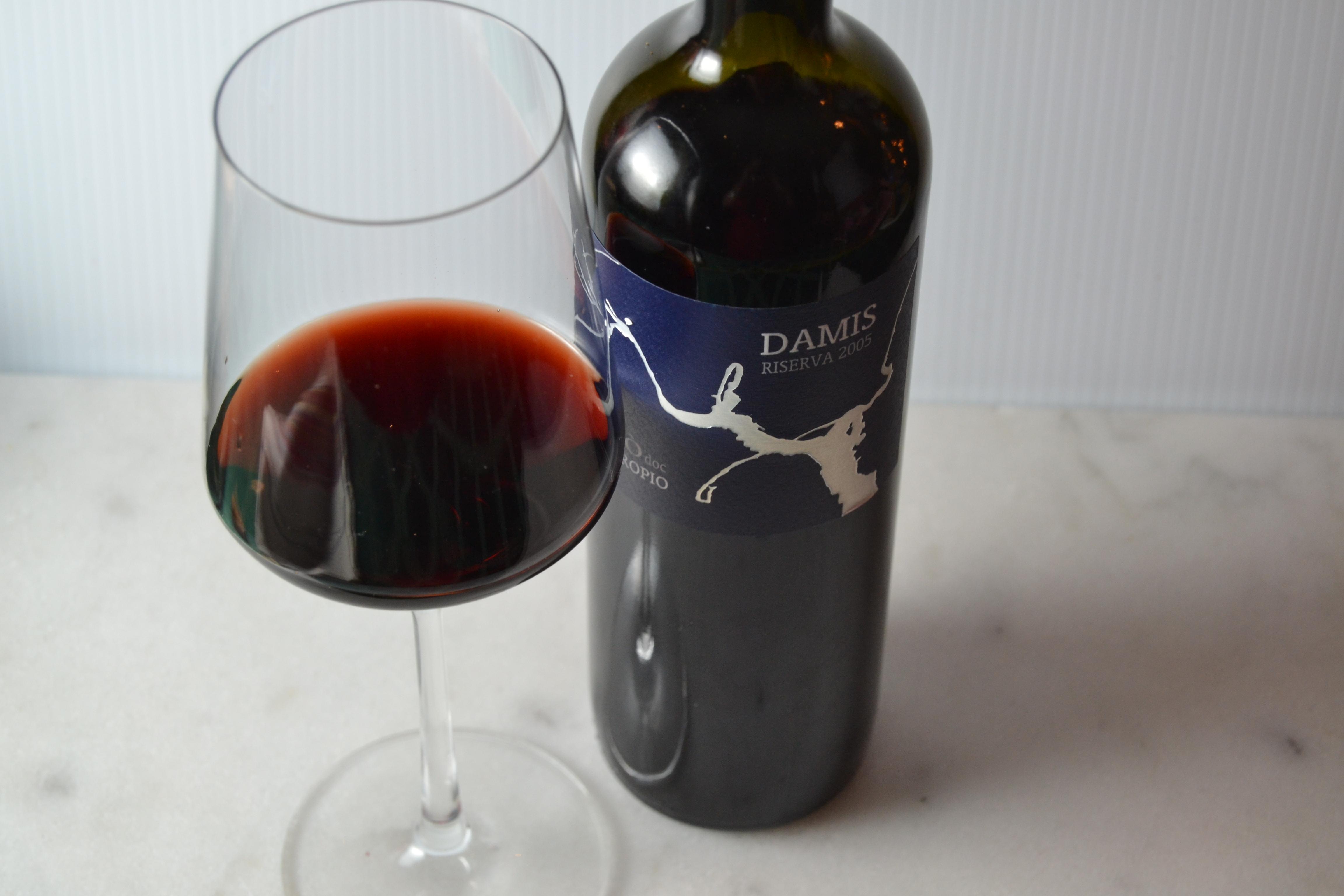 2005 Damis Riserva Ciro doc Du Cropio