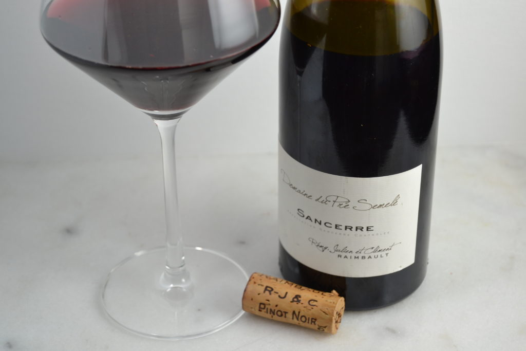 2013 Domaine du Pré Semelé Sancerre Rouge - Pinot for every day