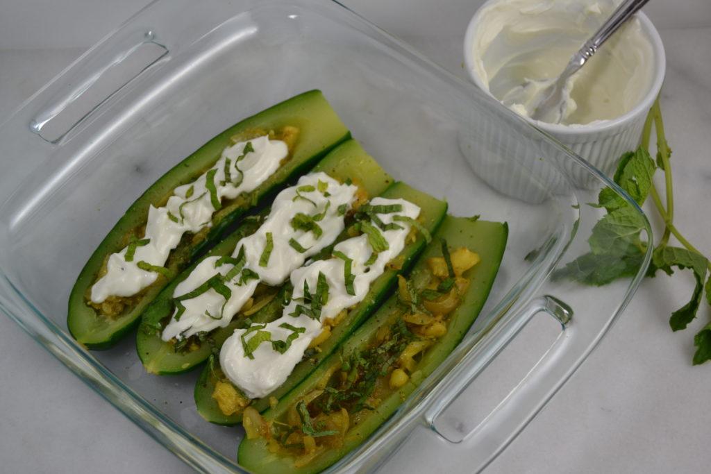 Zucchini with Chevre